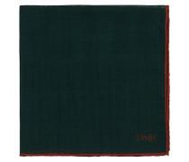 Plain Woll/Silk Einstecktuch Green