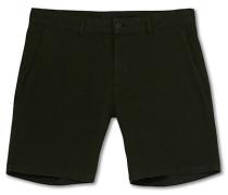 Chinohose Shorts Seaweed Green