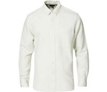Solid Köperhemd White