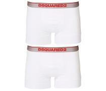 2-Pack Modal Stretch Boxershort White