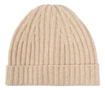 Strick Cashmere Mütze