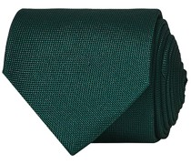 Silk Basket Weave Krawatte Green