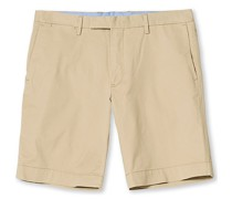 Tailored Slim Fit Shorts Classic Khaki
