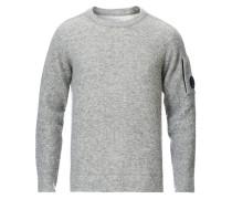 Stricked Woll Sweatshirt Grey
