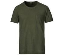 Panarea Watercolor Tshirt Sage