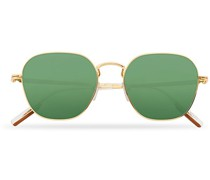 EZ0174 Sonnenbrille Shiny Deep Gold/Green