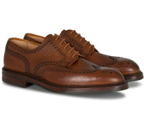 Pembroke Derby Tan Grained Calf