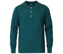 Garment Dyed Henley Old Forest