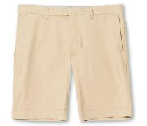 Tailored Slim Fit Shorts Khaki