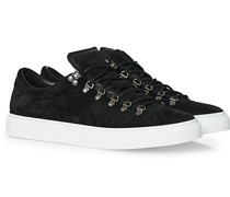 Marostica Low Sneaker Black Suede