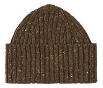 Classic Donegal Merino Hut/Mütze Moss