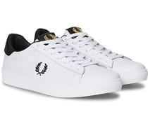 Spencer Leder Tap Sneaker White/Navy