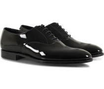 Overton Oxfords Black Patent