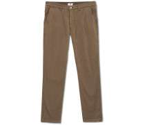 Marco Slim Fit Stretch Chinohose Khaki Grey