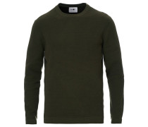 Julian Structure Pullover Army Green