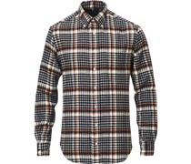 Buttondown Country Plaid Hemd Grey/Red