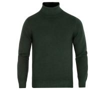 Vintage Merino Stricked Rollneck Green