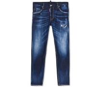Skater Jeans Dark Washed