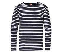 Houat Héritage Stripe Longsleeve T-shirt Navy/White