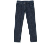 Slim Fit Stretch Jeans Dark Blue