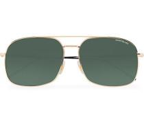 MB0046S Meisterstück Sonnenbrille Gold/Green