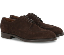 Dover Split Toe R2 Sole Derby Mink Suede
