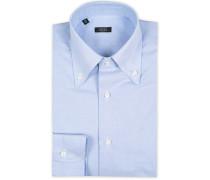 Slim Fit Buttondown Oxfordhemd Blue