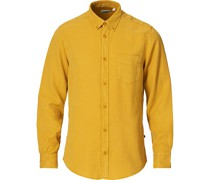 Manza Tencel/Leinenhemd Yellow