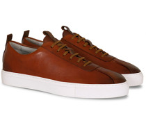 Oxford Hand Painted Calf Sneaker Tan