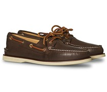 Gold Cup Authentic Original Boat Schuh Brown