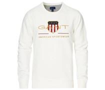 Archive Shield Sweatshirt Eggshell
