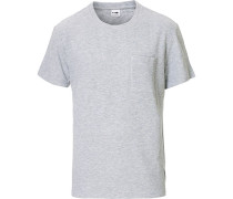 Clive Stricked Tshirt Grey