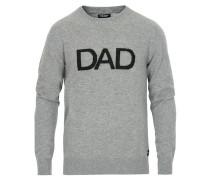 Cashmere Dad Sweatshirt Grey Melange