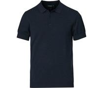 Ridge Baumwoll/Silk Polo Navy