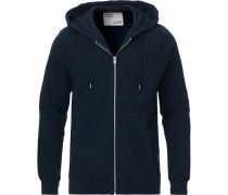 Classic Organic Full Zip Hood Navy
