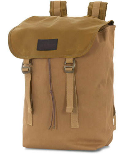 Rugged Twill Ranger Rucksack Tan Canvas