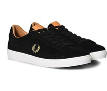 Spencer Suede Sneaker Black
