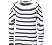 Houat Héritage Stripe Longsleeve T-shirt White/Navy