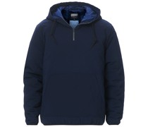Nordic Diamond Quilted Pullover Navy
