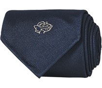 Archer Placement Woven Silk Krawatte Navy