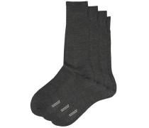 3-Pack Naish Merino/Nylon Socke Charcoal