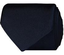 Krawatte 7,5 cm Silk Krawatte Dark Blue