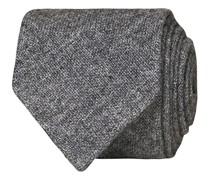 Cashmere 8 cm Krawatte Light Grey