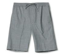 Drian Drawstring Shorts Grey Melange
