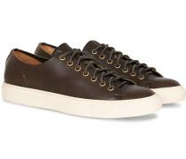 Calf Sneaker Dark Brown
