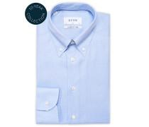 Slim Fit Royal Oxford Buttondownhemd Light Blue