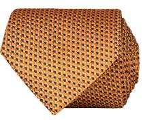 Silk Micro Pattern 8 cm Krawatte