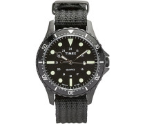 Navi Harbor Black/Black Dial