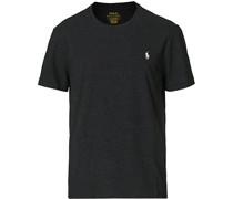 Rundhalsausschnitt Tshirt Black Marl Heather