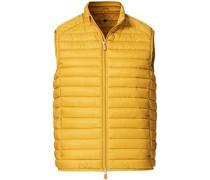 Adam Lightweight Weste Ochre Yellow